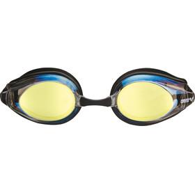 arena Tracks Mirror Svømmebriller beige/sort